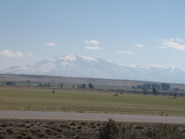 Mountains near Pocatello 9