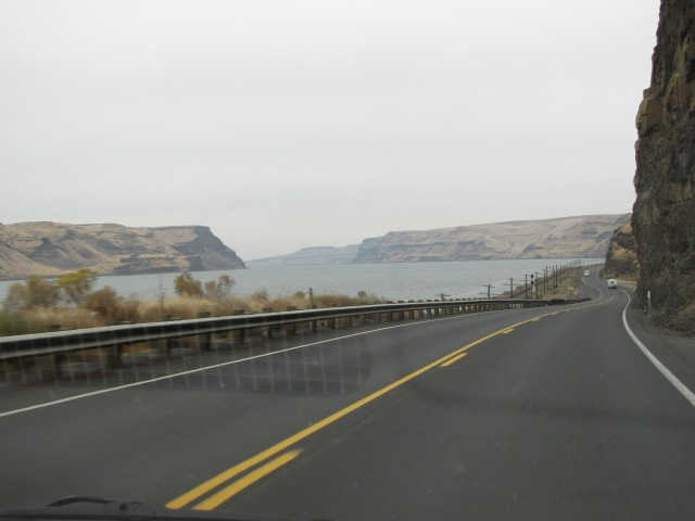 Columbia River Highway, Lake Wallula, and Lake Wallula Gap