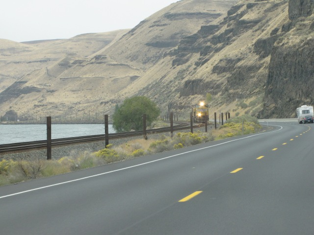 Columbia River Highway and Lake Wallula