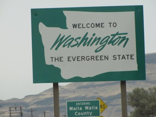 Into Washington we go!