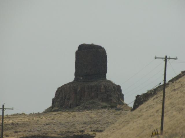 First of Twin Sisters - 9 miles mauka of Umatilla