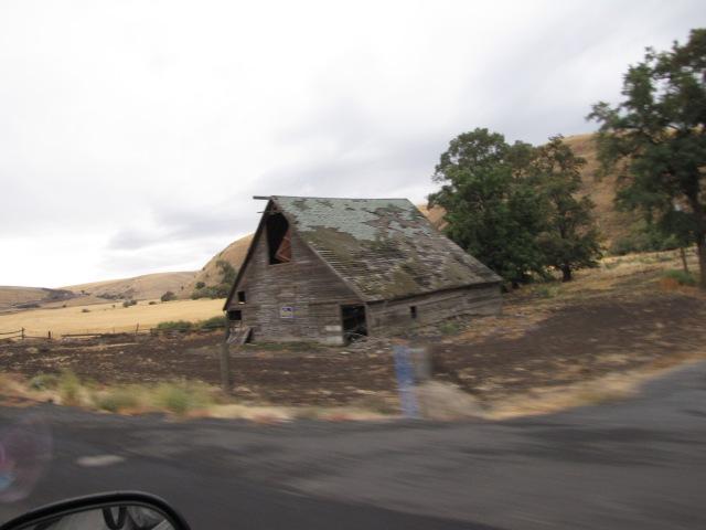 Near Pataha, Washington, along Highway 12
