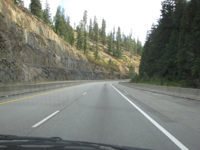 Entering Idaho Panhandle National Forest