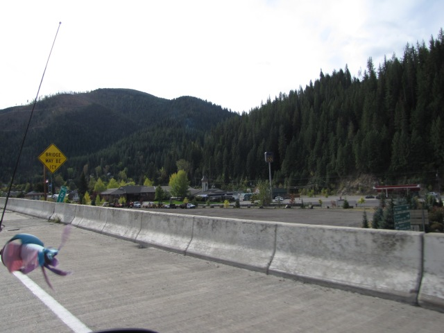 Wallace, Idaho, 45 minutes from Coeur D'Alene