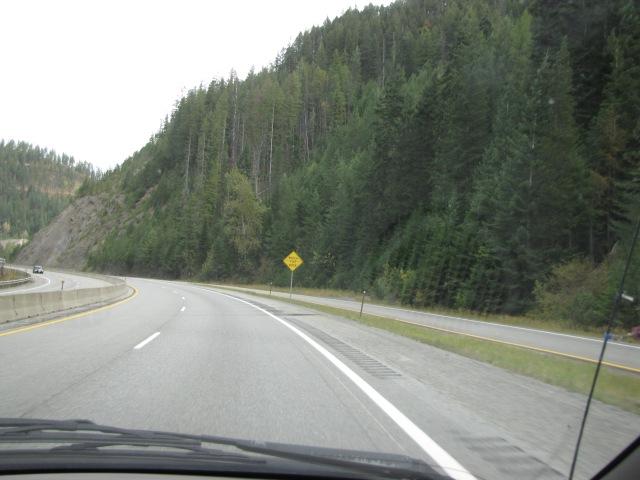 Just makai of Mullen, Idaho