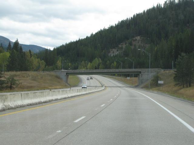 Atlas Road overpass, Mullan, Idaho