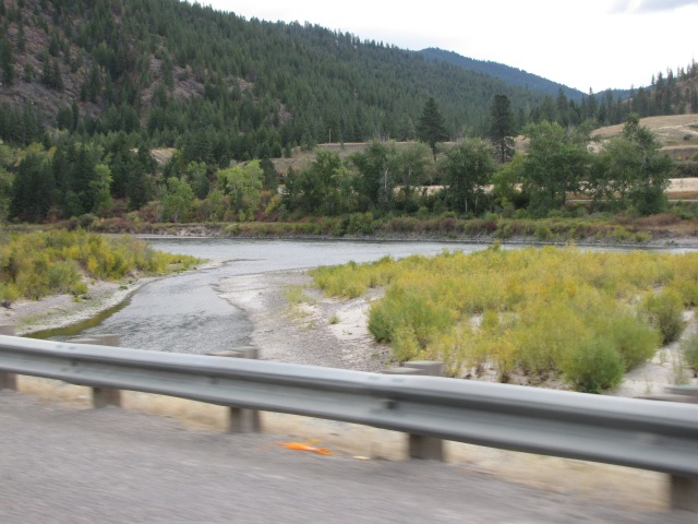 Clark Fork River east of Cyr
