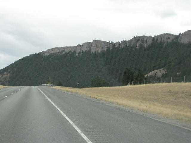 Coming into the canyon near Bradman