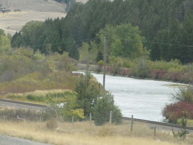 Clark Fork River just outside Drummond