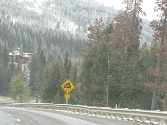 Heading towards McDonald Pass