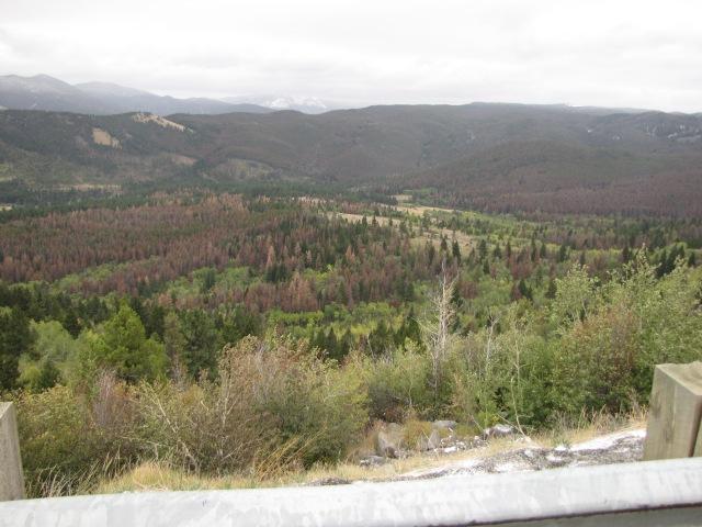 McDonald Pass viewpoint