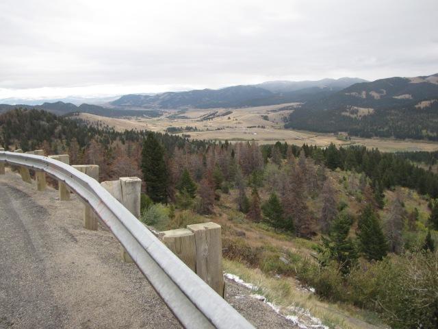 Big Belt Mountains and McDonald Pass