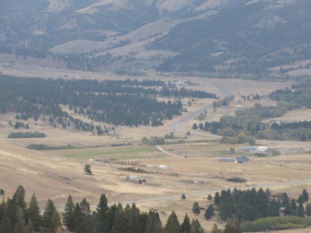 MacDonald Pass viewpoint