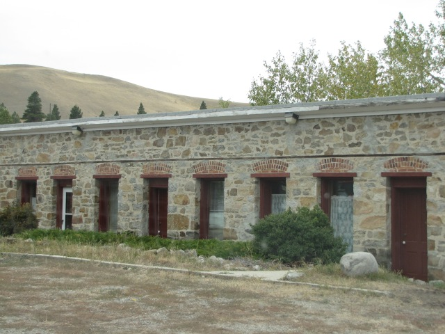The old steam baths