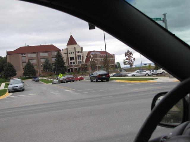 Carroll College /  Highway 12 - Helena 3:11 p.m.