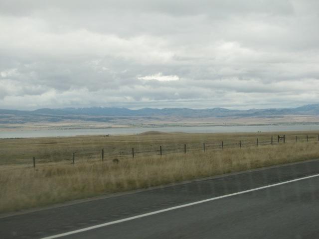Canyon Ferry Lake and Big Belt Mountains