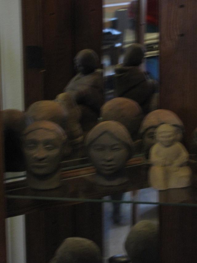 Anna's sculptures