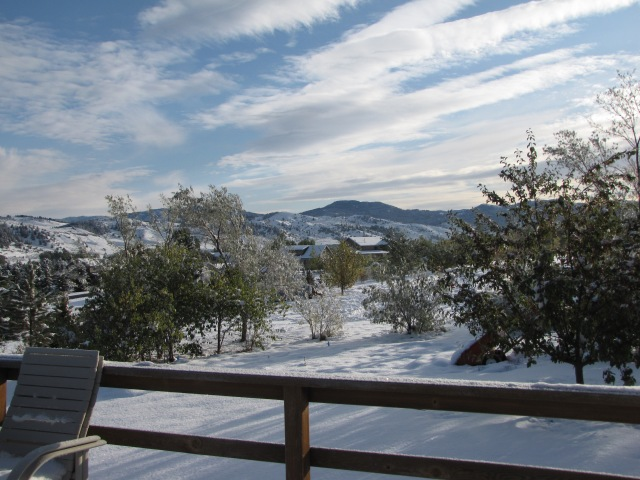 View from Cousins'  deck