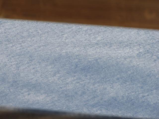 Sparkly snow