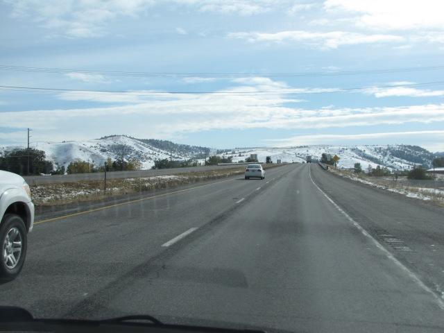 East on I-90