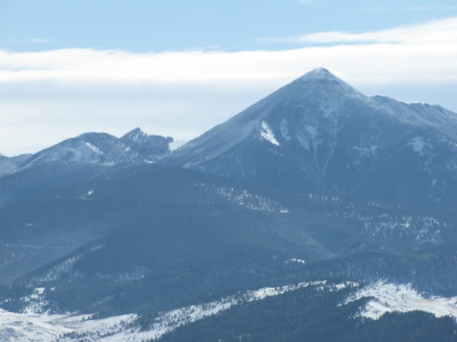 The Gallatin Range -  Livingstone Peak