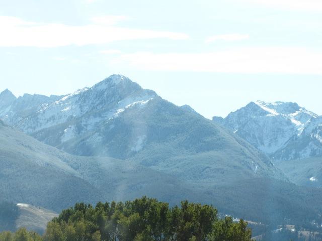 Absaroka Mountain Range