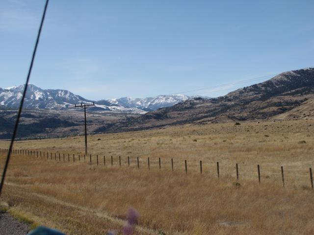 Heavy winds near Dome Mountain Ranch