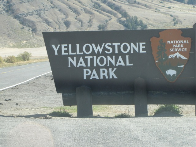 We're in Yellowstone!