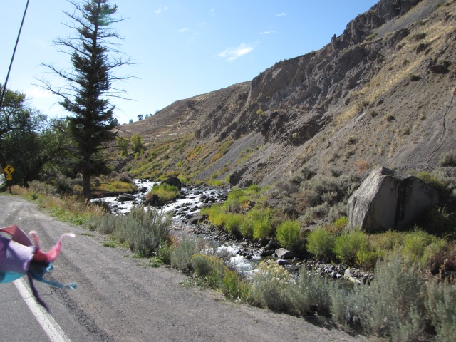 Yellowstone River on North Entrance Road