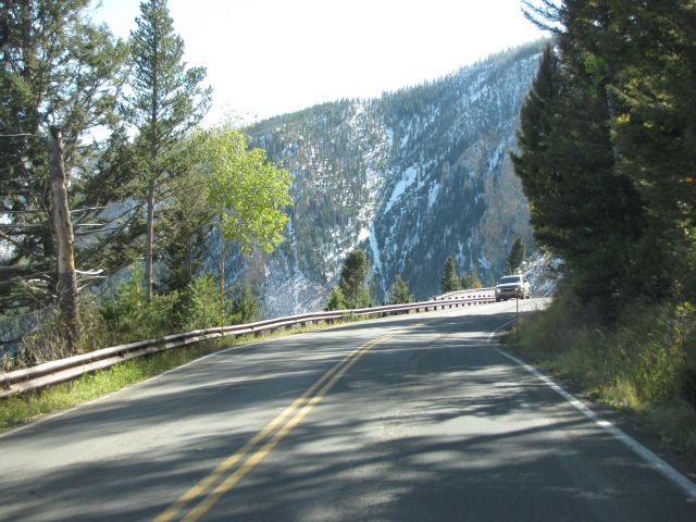 Coming into the Golden Gate Canyon area.