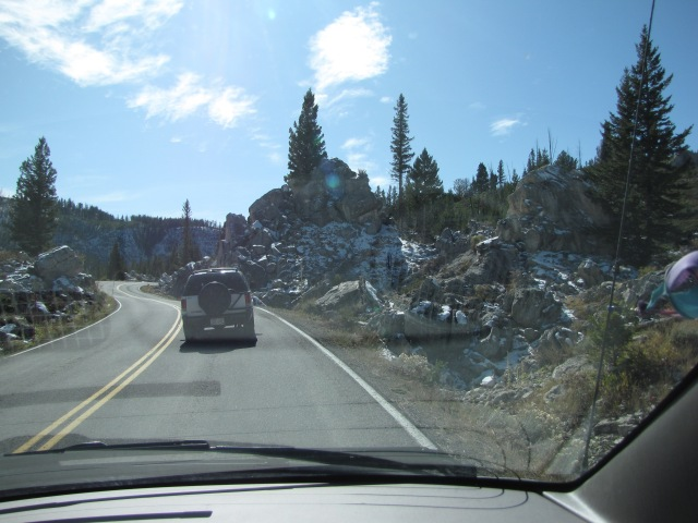 Silver Gate area - just past entrance to Hoodoo Mountains