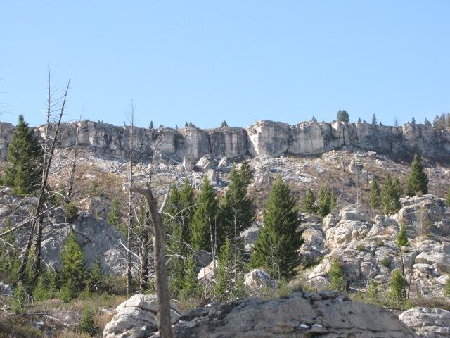 The Hoodoo Mountains