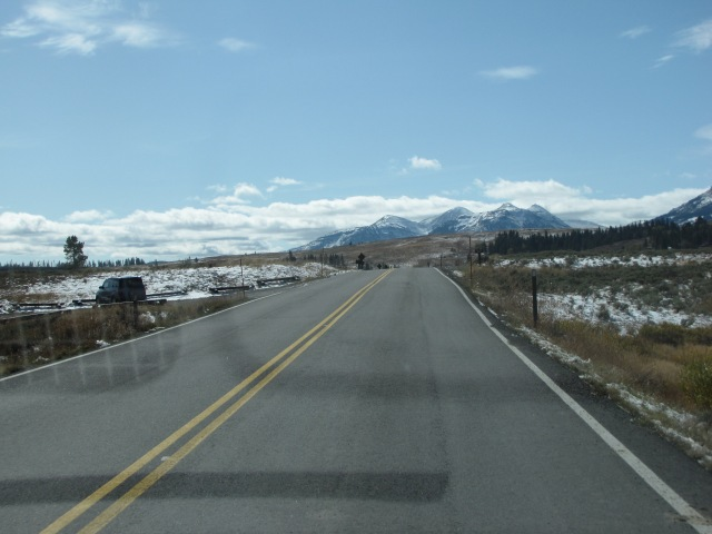 Quadrant Mountains and Mt Washburn