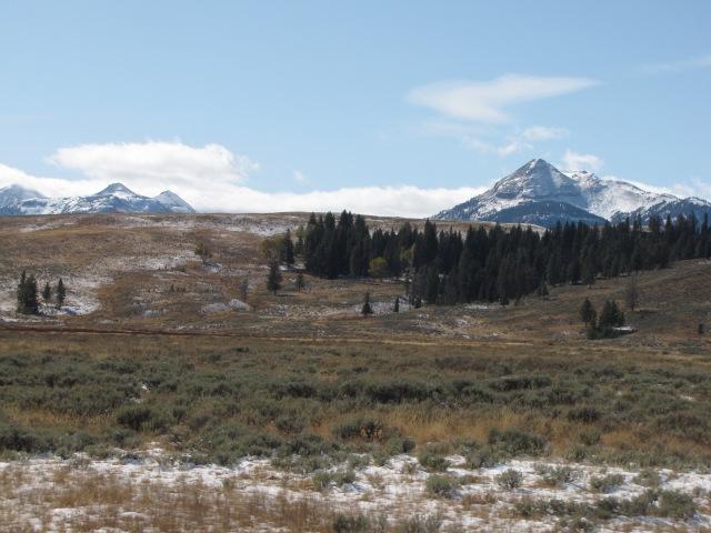 Quadrant Mountains and Electric Peak