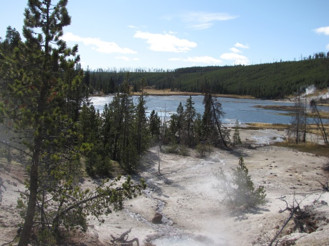 Hot Springs and Nymph Lake