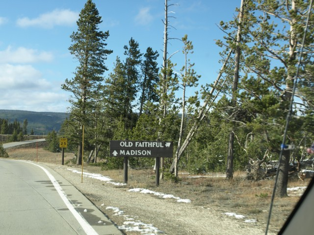 Entrance to Old Faithful