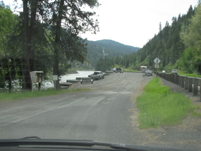 Boat launch, Clearwater River