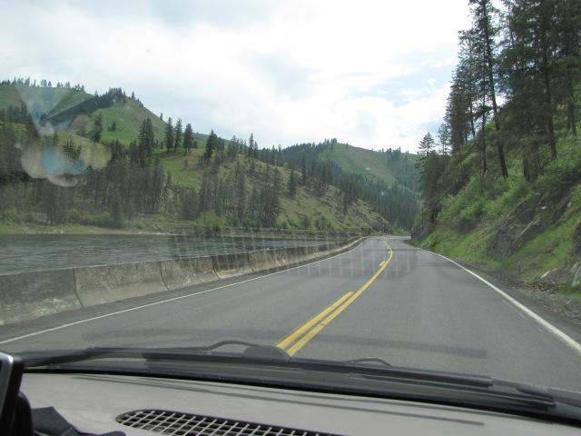 Heading east on Highway 12 - Pau Part 9