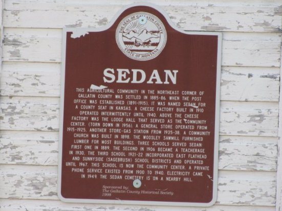 Sedan, Montana